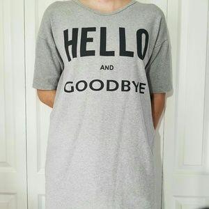 Hello and Goodbye Top